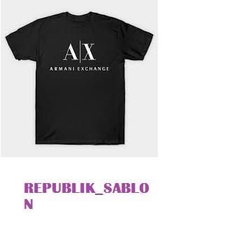 t-shirt pria kaos armani exchange  5058b1e39a