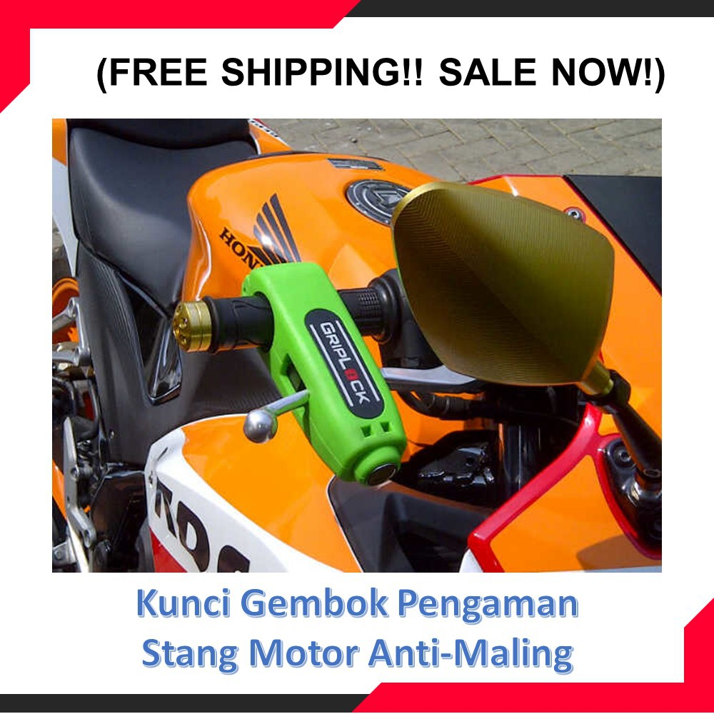 Gembok Tdr Kunci Cakram Disc Lock Shopee Indonesia Triangle