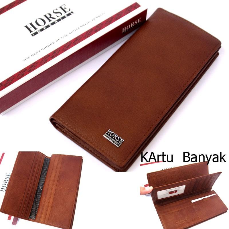 Dompet kulit asli pria sapi murah kartu lipat casual polos simple simpel  standar premium garut  5e81c6a142