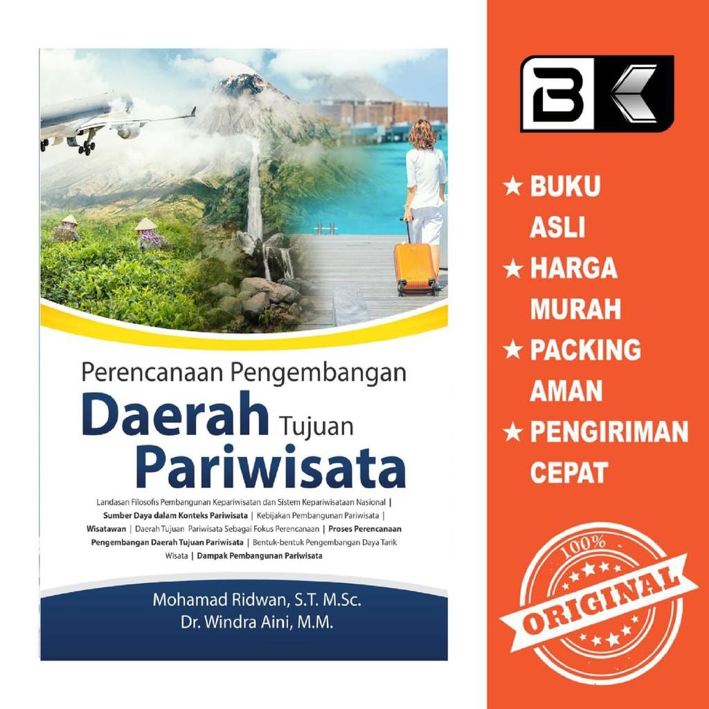 Buku Perencanaan Pengembangan Daerah Tujuan Pariwisata