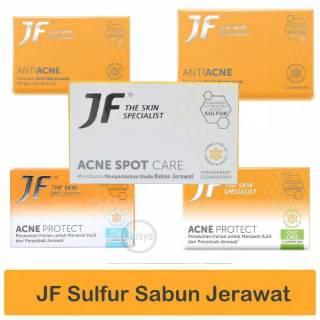 Sabun Jf Sulfur Derma Protect Blue Ocean 90 Gram Anti Bakteri Shopee Indonesia