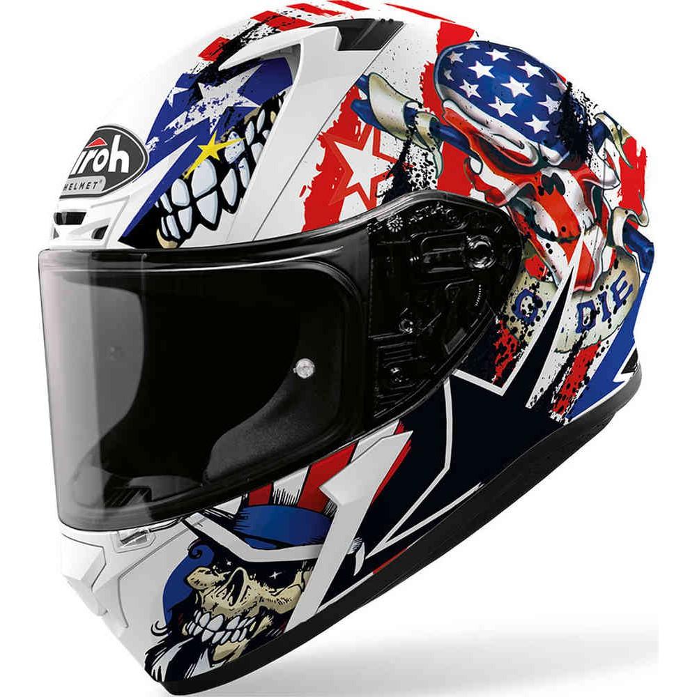Helm Airoh Valor Uncle Sam Matt Helmet Airoh Full Face Shopee Indonesia