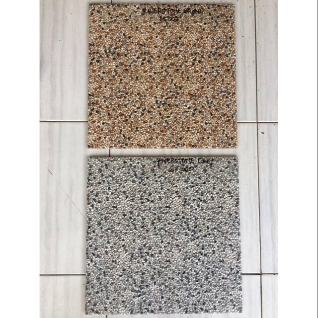 Keramik Lantai Kasar 40x40 Kw 1 8 Motif Free Ongkir Shopee Indonesia