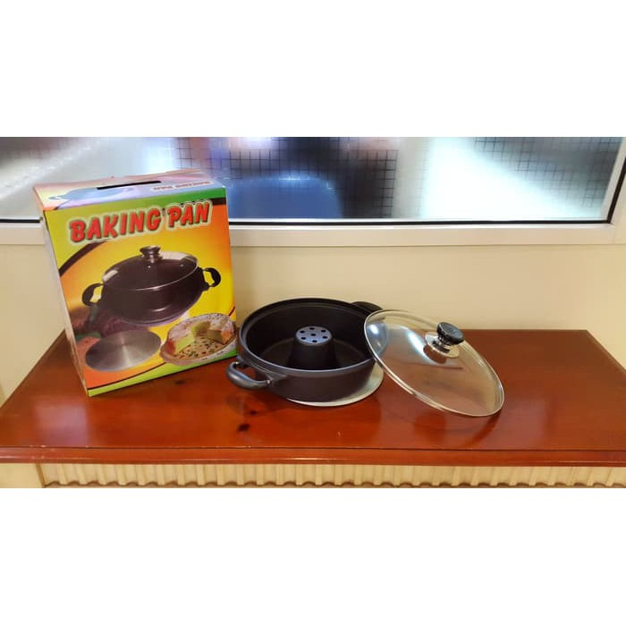 Premium Baking Pan Teflon Loyang Bundar Super Gratis