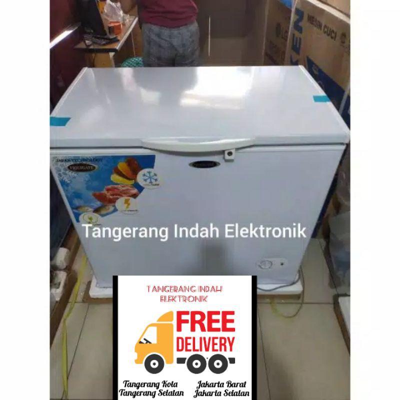 Freezer Box Frigigate Chest freezer 200 liter CFR 200 Freezer BOx Freezer Daging