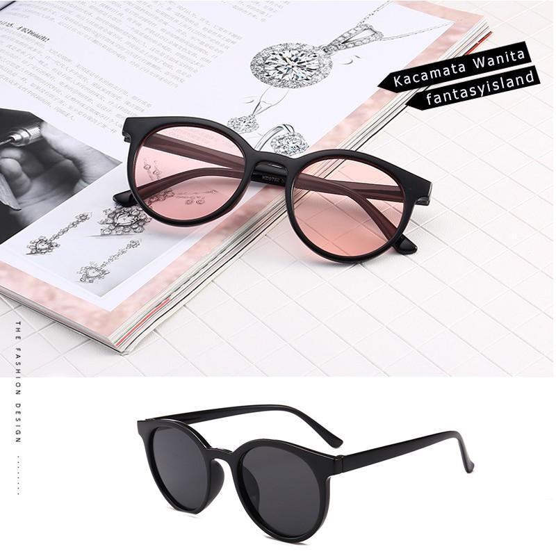 Kacamata Hitam Wanita Transparent Sunglasses Frameless Port Trends Couples  Simple glasses  44026998d1