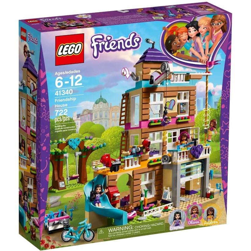 Lego Friends 41340 Friendship House Shopee Indonesia