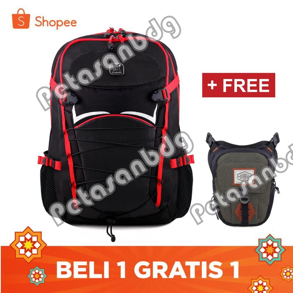 Gear Bag Diario Rhinoceros 2.0 Daypack Backpack + FREE Baepack Microscoopy - Blue | Shopee Indonesia