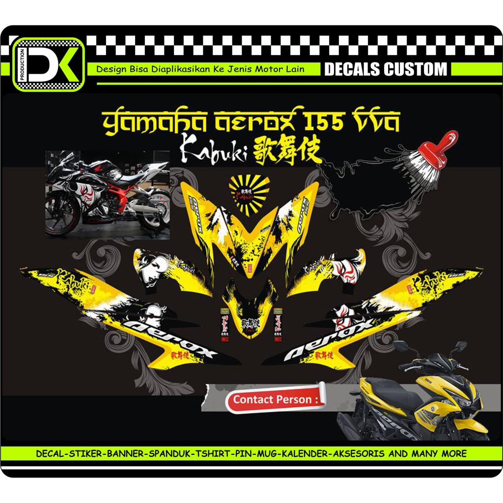 Decal sticker striping motor yamaha mio sporty shopee indonesia