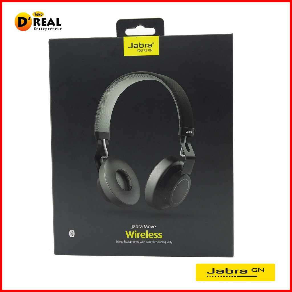 Headset Earphone Handsfree STEREO Bluetooth JABRA MOVE ORIGINAL