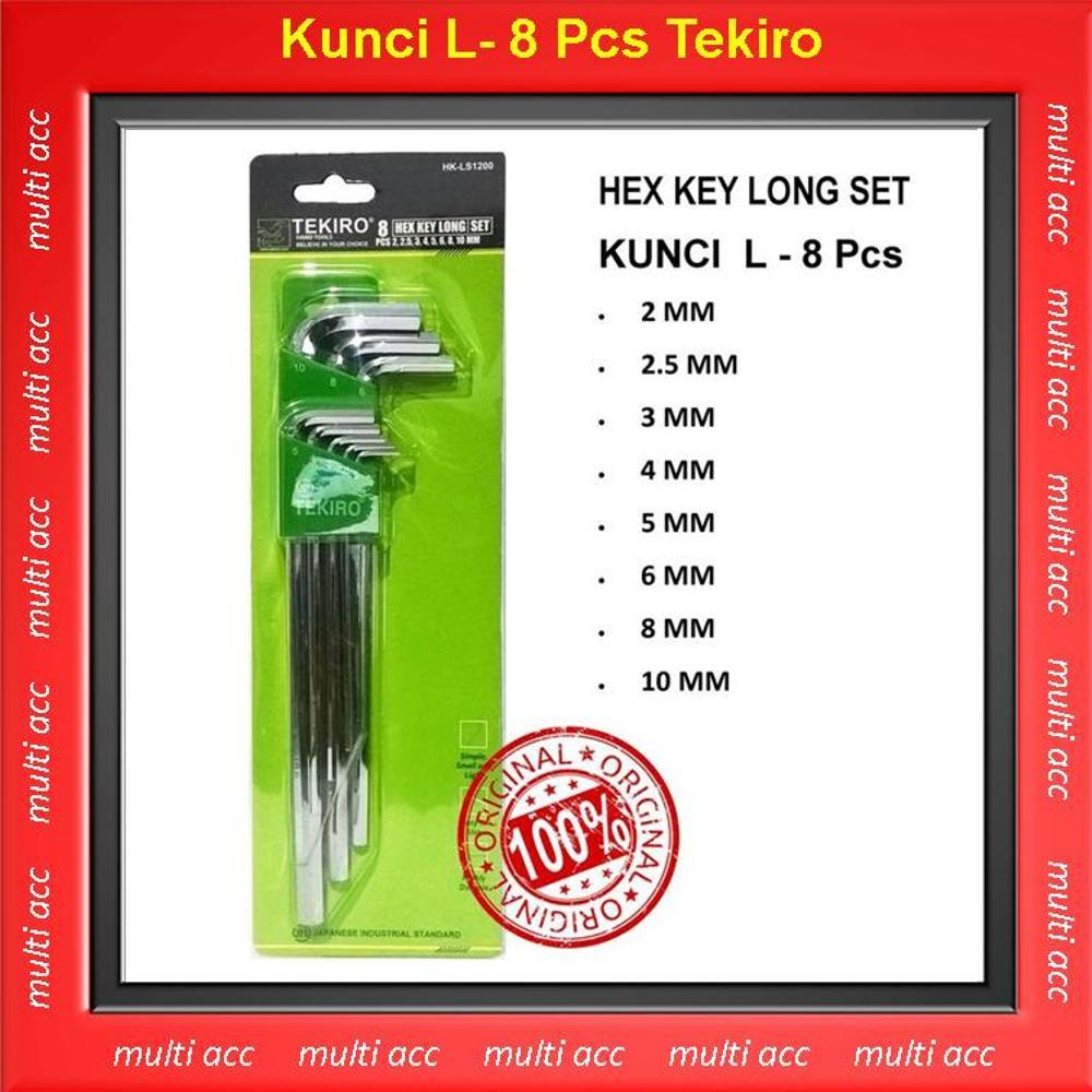 Tekiro Kunci L Set Ballpoint Panjang 9 Pcs Shopee Indonesia Bintang Xtra Long 9pcs