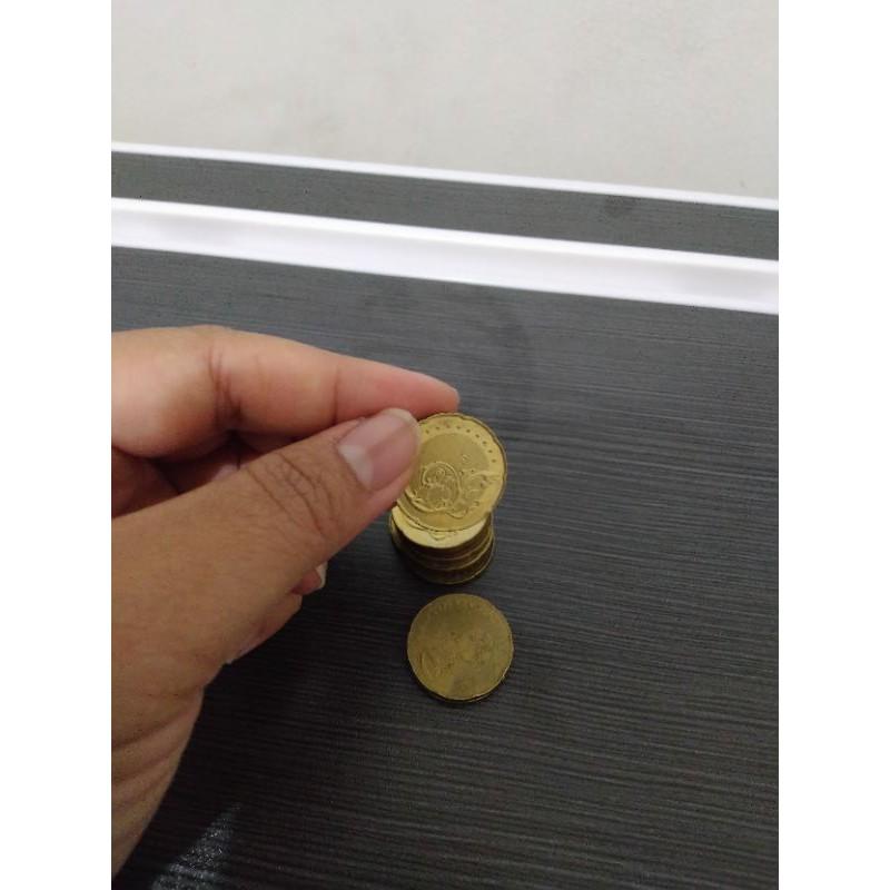 Koin 50 Sen Ringgit Malaysia