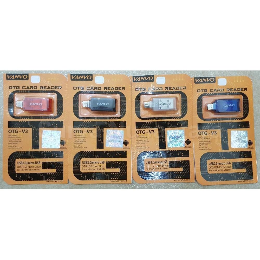 Micro Usb Otg Vanvo V3 Original Quality Kualitas Bagus Shopee Kipas Angin Indonesia