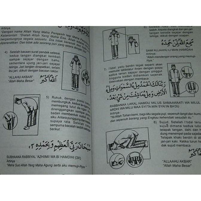 Promo Buku Tuntunan Shalat Lengkap Buku Panduan Praktek Sholat