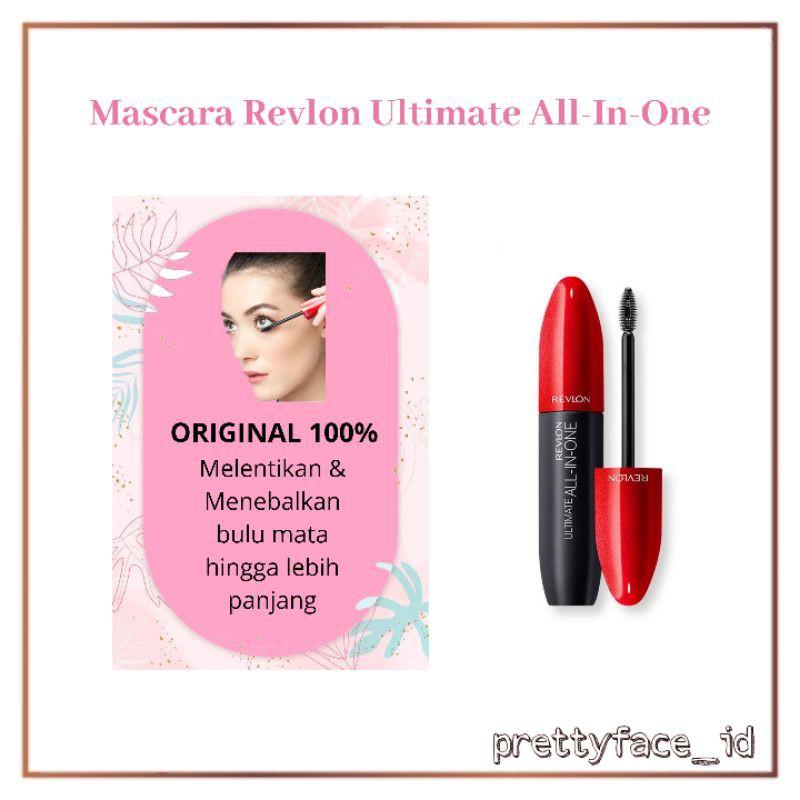 Revlon Ultimate All In One Mascara Kosmetik Mata Maskara Murah Waterproof Kecantikan Make Up Cod Shopee Indonesia
