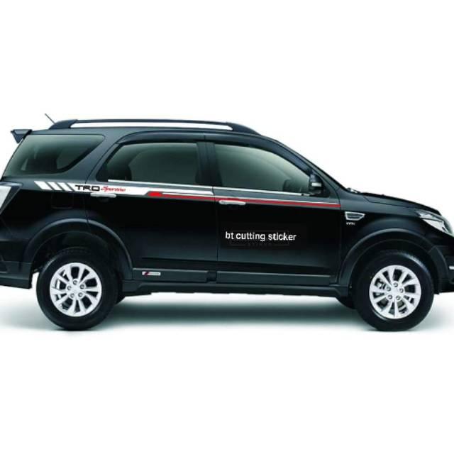 Terbaru Sticker Cutting List Body Toyota Rush Sticker Mobil Toyota Rush Daihatsu Terios Dll Shopee Indonesia