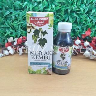 MURAH Minyak Kemiri Al-Khodry Penumbuh dan Penyubur Rambut HEMAT 20%