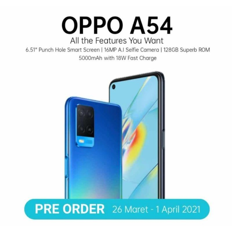 Second OPPO A54