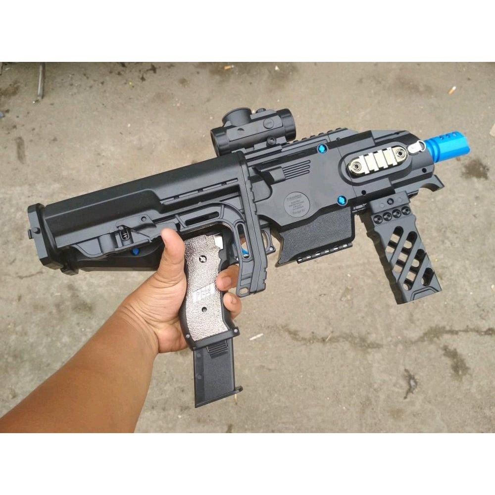 Sig Sauer P226 Water Gell Gun Elektrik With Attachment Mainan Anak Shopee Indonesia