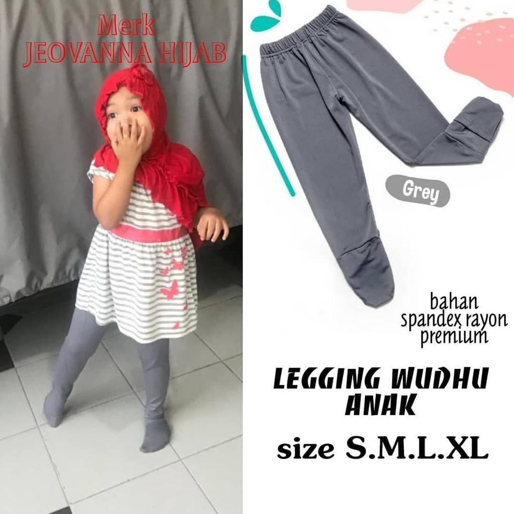 Termurah Legging Wudhu Anak Cantik Lucu Leging Wudhu Anak Muslimah Spandex Premium Terbaik Shopee Indonesia