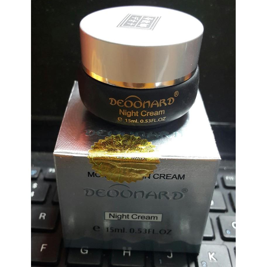Cream Deoonard Silver Orginal Shopee Indonesia Night Krim Malam