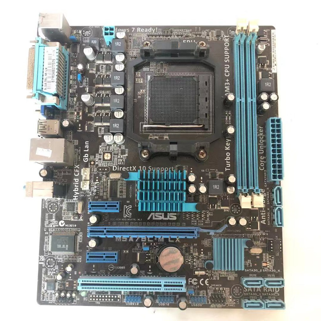 ASUS M5A78L-M LX PLUS BIOS Chip