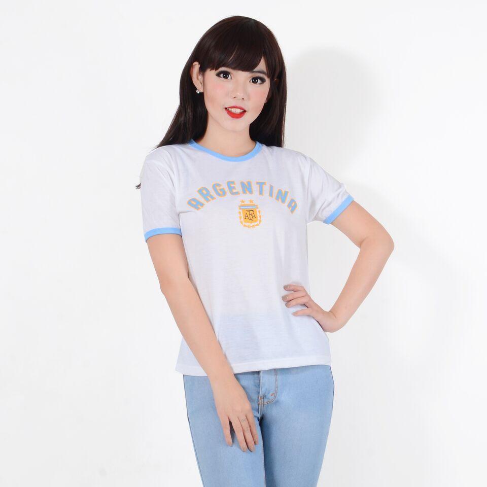 Belle Fashion Baju T Shirt Kaos Bola Piala Dunia Murah