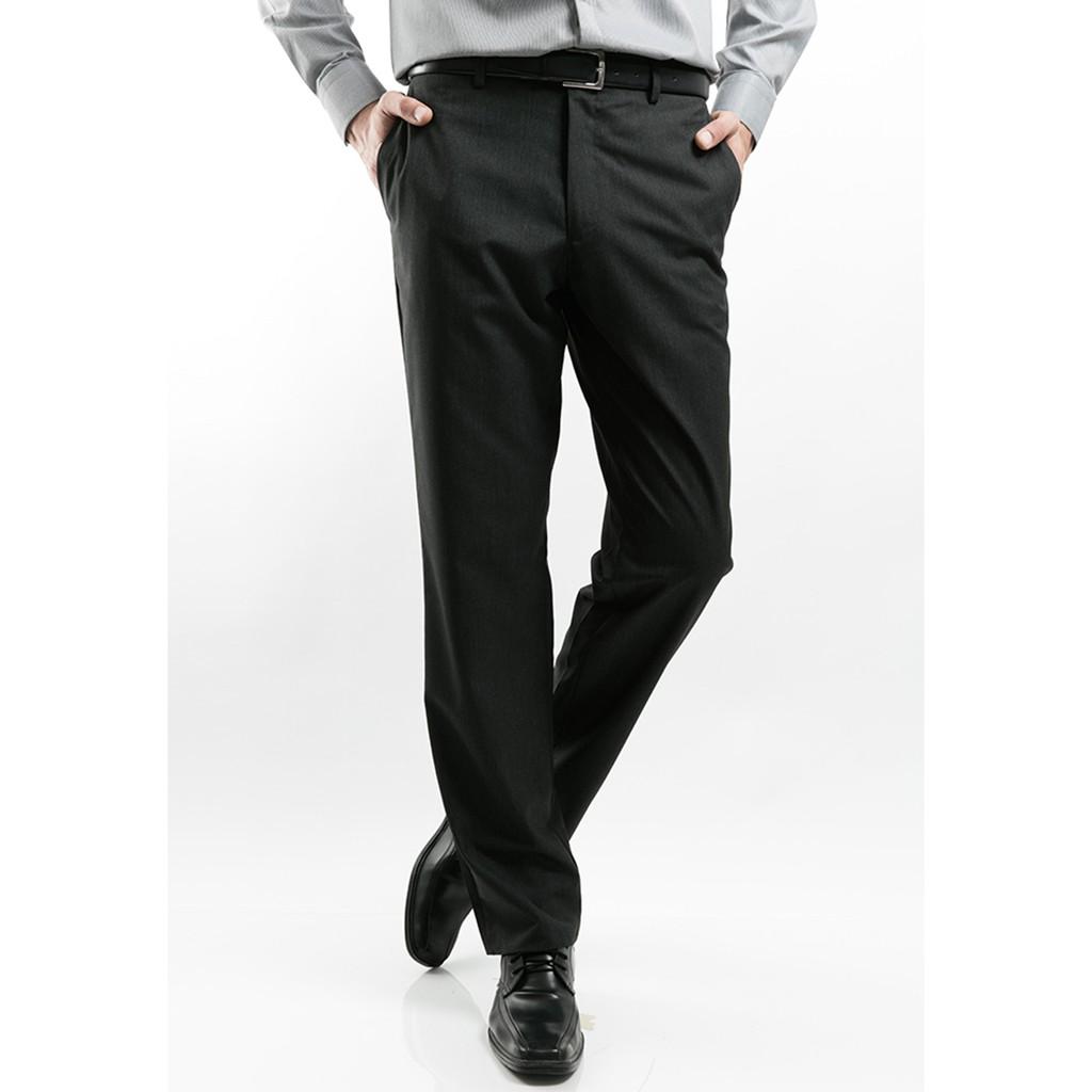 MANLY Celana Formal Slim Fit Amadeus Black