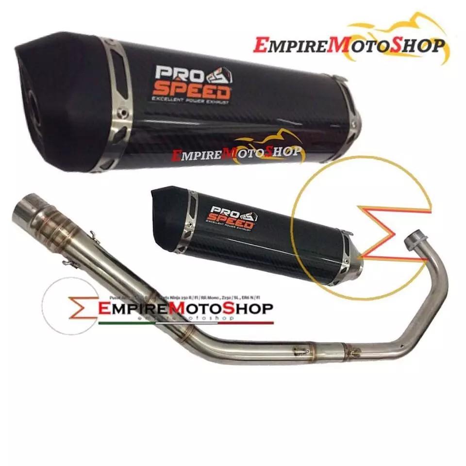 Knalpot Prospeed Yamaha Vixion Nvl Nva Black Carbon Shopee Mf Series New Vixion150 Full Indonesia