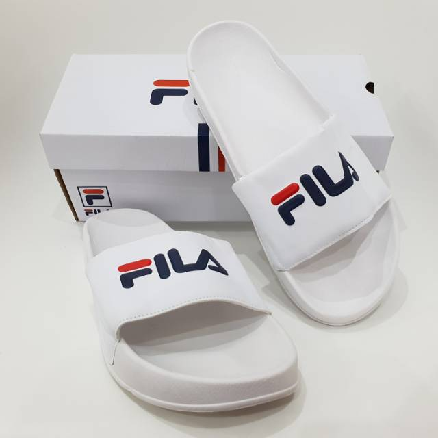Sandal Fila Slop Premium BNIB   Sandal Cewek Murah   Sandal Terbaru ... 42016e5c09