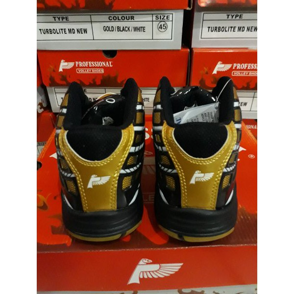 Hot! Sepatu Volly Professional New Turbolite Md  662aa43156