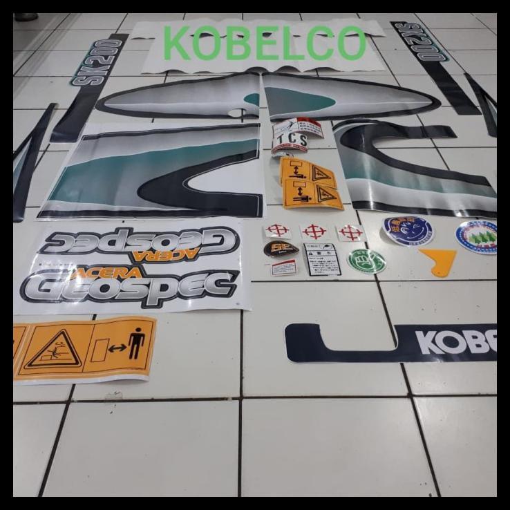 Sticker Kobelco Sk 200-8, Sk200-7