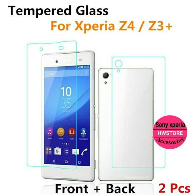 Sony Xperia Z5 Mini / Compact Tempered Glass Depan + Belakang ( Front + Back ) Bening / Clear   Shopee Indonesia