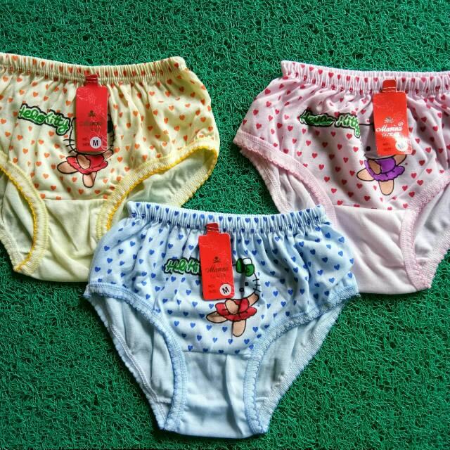 Celana Dalam Anak Perempuan Wanita TK / SD , CD Anak Cewek
