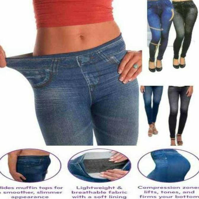 Best Seller||Ready Stock- Celana Legging Slim N Lift Caresse Jeans -Celana