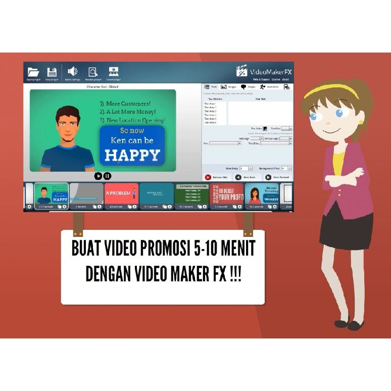 Buat Video Promosi Cepat Dan Mudah Dengan Video Maker Fx Shopee Indonesia