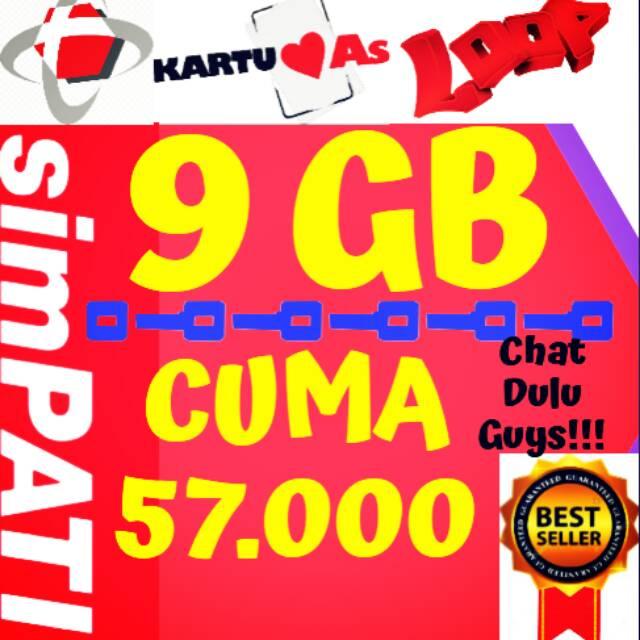 Paket Telkomsel 9 GB