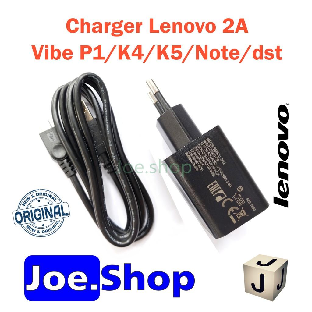 Terlaris Fast Charger Lenovo 2a A6000 A7000 Vibe K4 K5 A6010 Ori 100 C P36 Original Shopee Indonesia