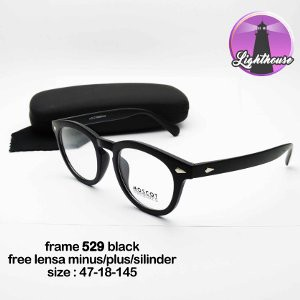 READY STOCK! kacamata pria wanita cewe cowo minus plus silinder murah keren gaya  kantor resmi kotak  605963e05b