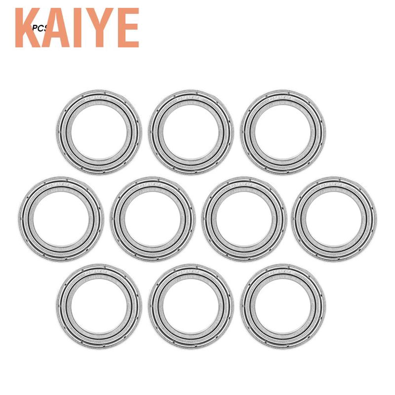 1PCS 6802ZZ Deep Groove Metal Double Shielded Ball Bearing 15mm*24mm*5mm