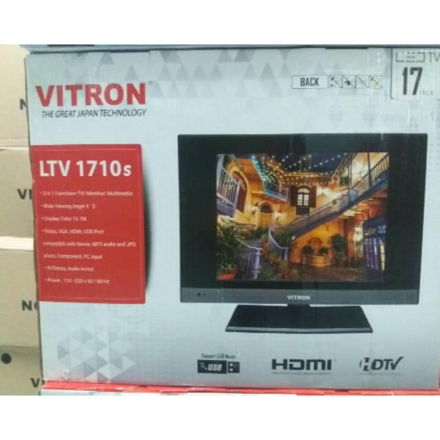VITRON LED TV 17 INCH USB MOVIE