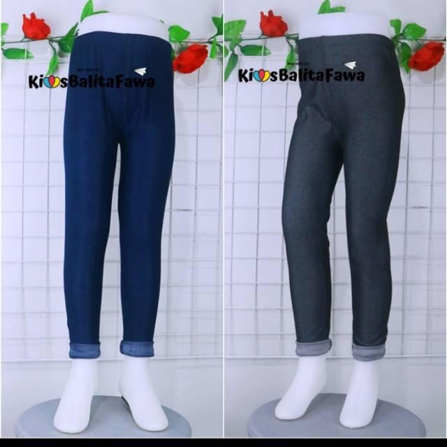 Legging Denim Kids Uk 3 8 Tahun Leging Semi Jeans Denim Anak Laki 3 4 Tahun Shopee Indonesia