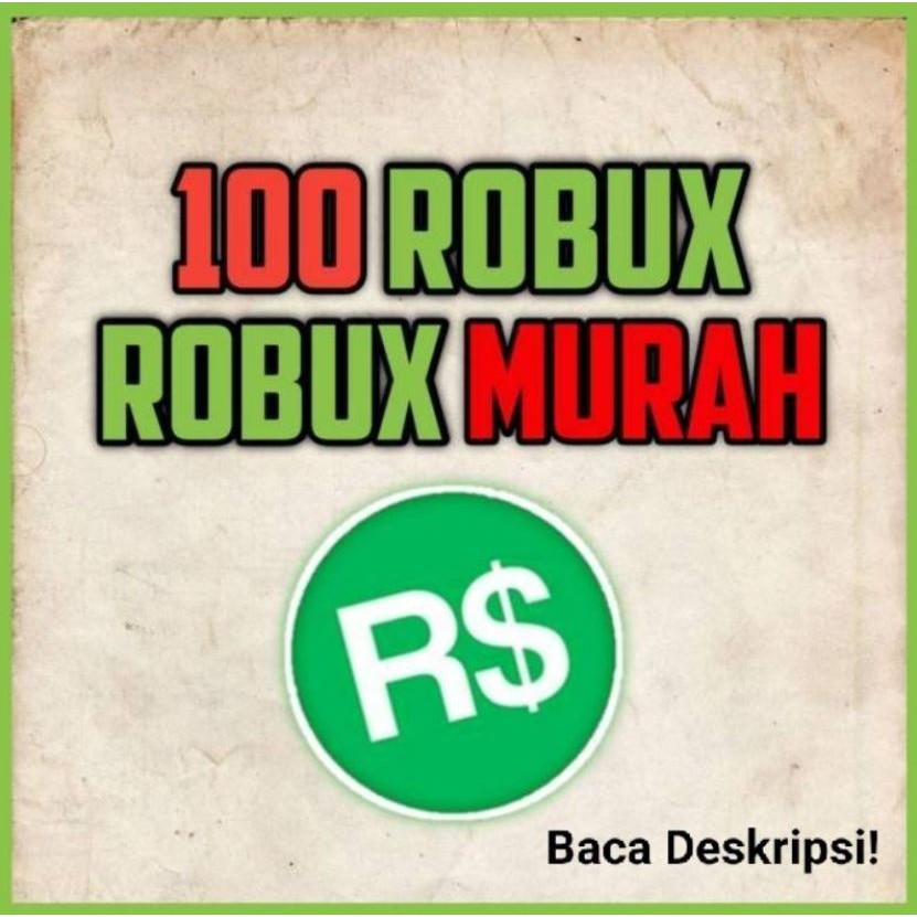 Robux 100 Murah