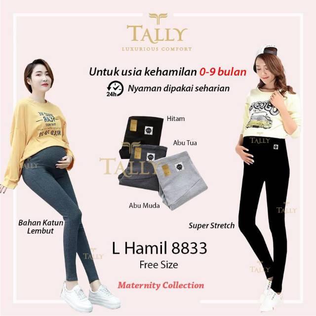 Celana Panjang Legging Hamil Tally 8833 Shopee Indonesia