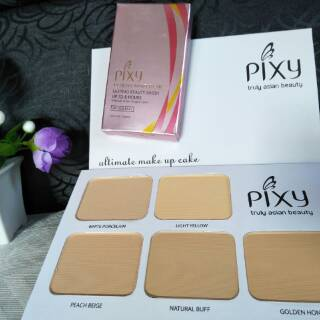 Pixy ultimate makeup cake. suka: 38 .