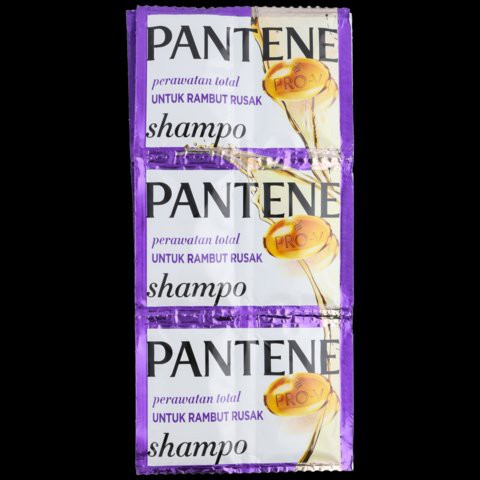 ☘️ MUMTAAZZTORE ☘️ P&G Pantene Shampo Pentin Shampoo RENCENG | 24 SACHET-Rambut Rusak / Ungu