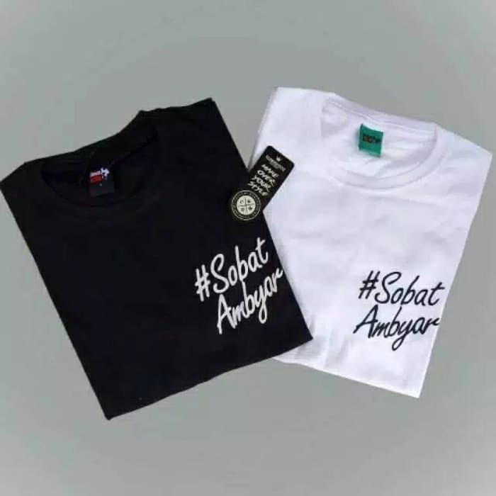Obral Kaos Distro Premium Sobat Ambyar Logo Keren Murah Terlaris