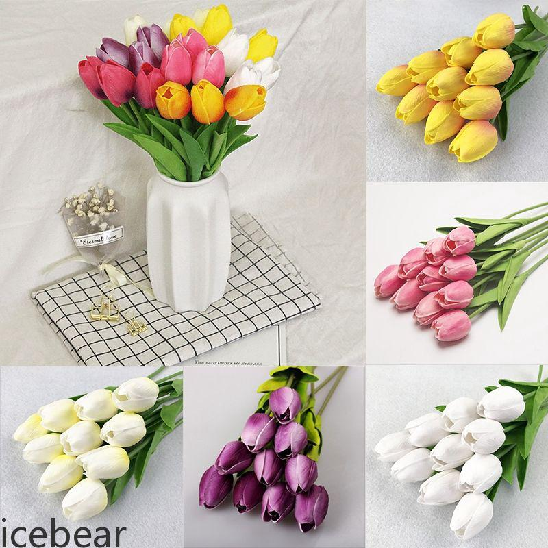 Bunga Tulip Artifisial Untuk Dekorasi Pernikahan Rumah Zone Shopee Indonesia