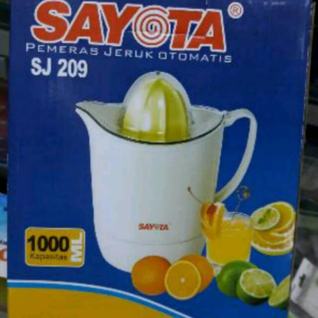 pemeras jeruk otomatis sayota sj-209 murah dan praktis   Shopee Indonesia