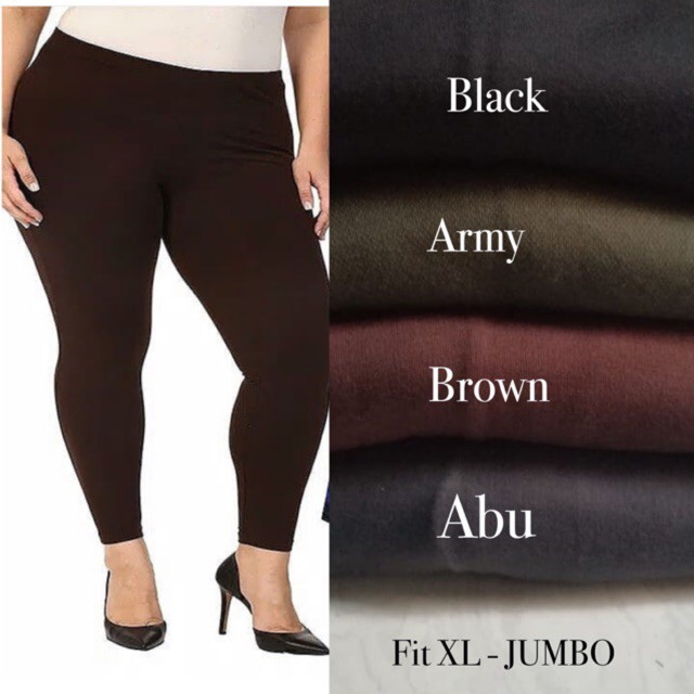 Cs Celana Legging Kaos Jumbo Shopee Indonesia